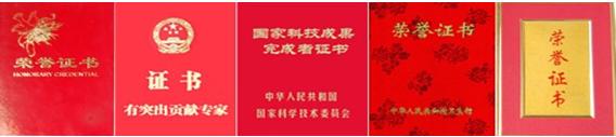 周华玲主任获得的荣誉证书